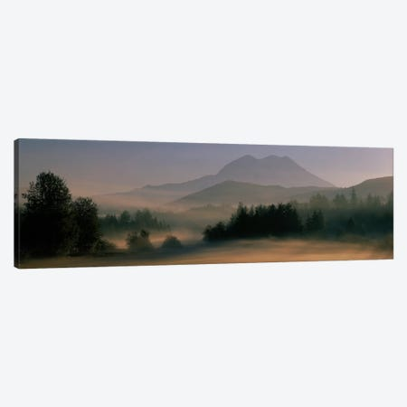 Sunrise, Mount Rainier Mount Rainier National Park, Washington State, USA Canvas Print #PIM1595} by Panoramic Images Canvas Wall Art