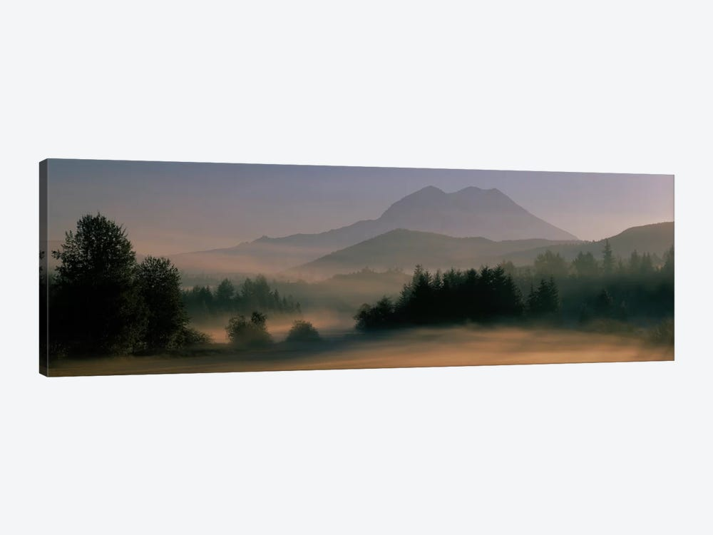Sunrise, Mount Rainier Mount Rainier National Park, Washington State, USA by Panoramic Images 1-piece Canvas Wall Art