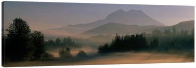 Sunrise, Mount Rainier Mount Rainier National Park, Washington State, USA Canvas Art Print