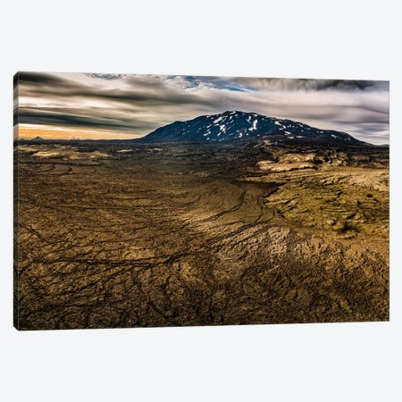 Hekla Volcano, Iceland Canvas Print #PIM15961} by Panoramic Images Canvas Print