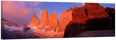 Parque National Torres del Paine Patagonia Chile Canvas Art Print