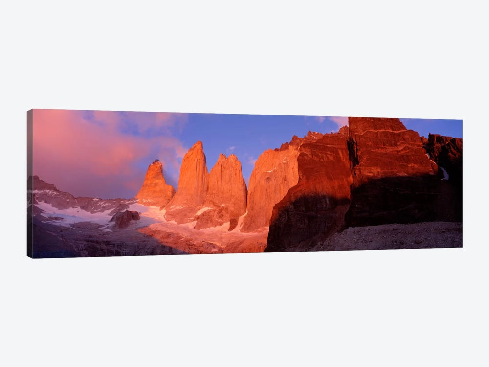 Parque National Torres del Paine Patagonia Chile by Panoramic Images 1-piece Canvas Print