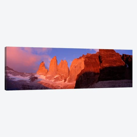 Parque National Torres del Paine Patagonia Chile Canvas Print #PIM1598} by Panoramic Images Canvas Art Print