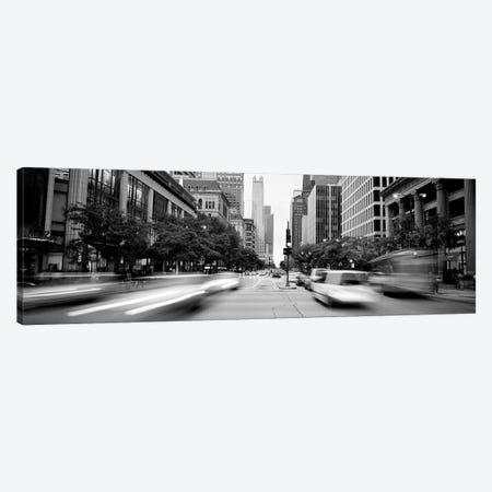 Michigan Avenue, Chicago, Illinois, USA Canvas Print #PIM15995} by Panoramic Images Art Print