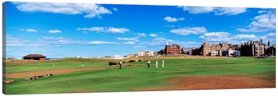 Old Course, Royal And Ancient Golf Club Of St. Andrews, St. Andrews, Scotland, United Kingdom Canvas Print #PIM159