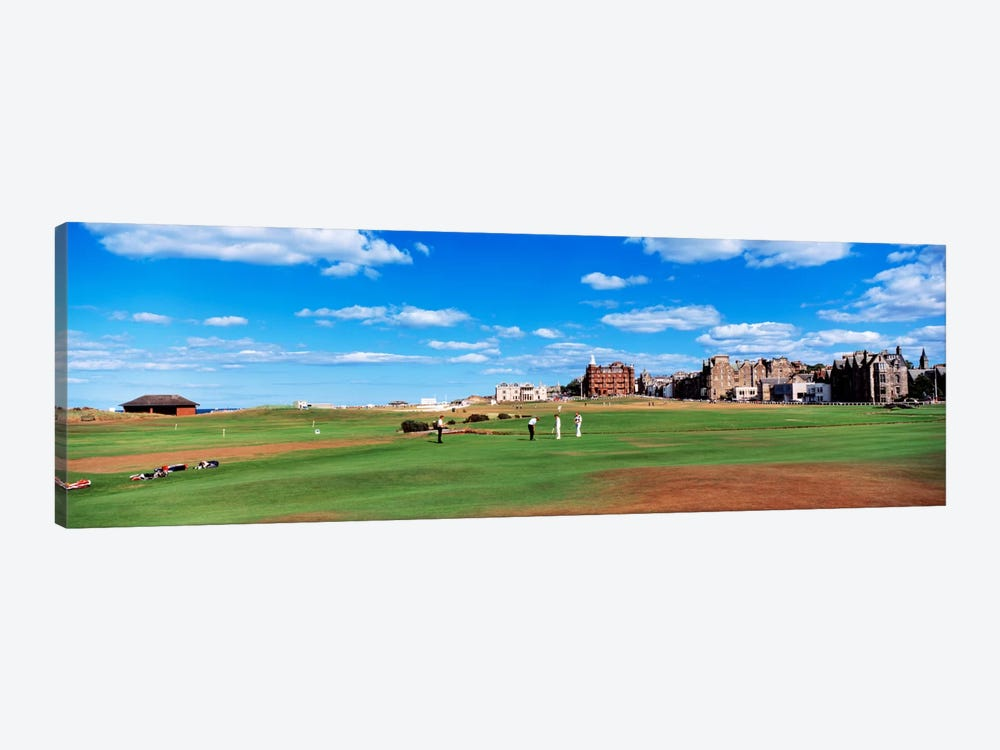 Old Course, Royal And Ancient Golf Club Of St. Andrews, St. Andrews, Scotland, United Kingdom by Panoramic Images 1-piece Canvas Art Print