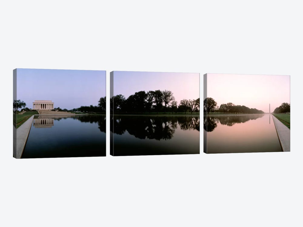 Washington DC by Panoramic Images 3-piece Canvas Wall Art