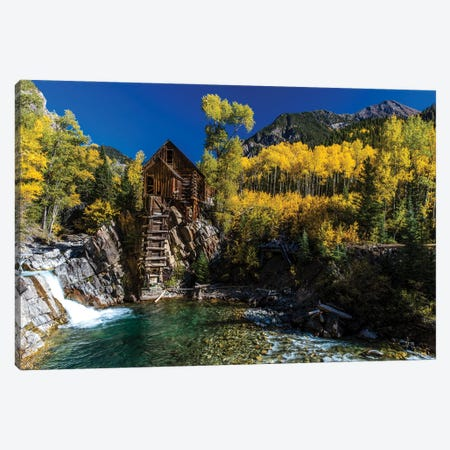 Old Mill On The Crystal River, Crystal, Colorado, USA Canvas Print #PIM16004} by Panoramic Images Canvas Print