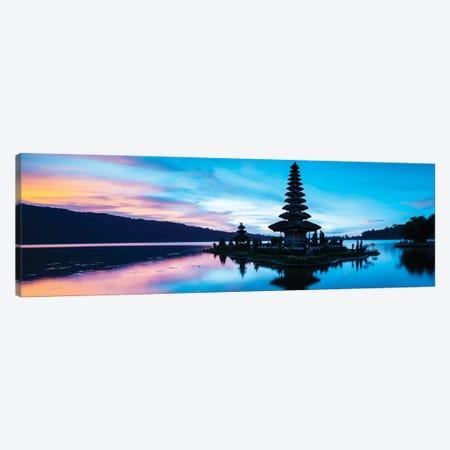 Pura Ulun Danu Beratan Temple, Bedugal, Bali, Indonesia Canvas Print #PIM16010} by Panoramic Images Canvas Print