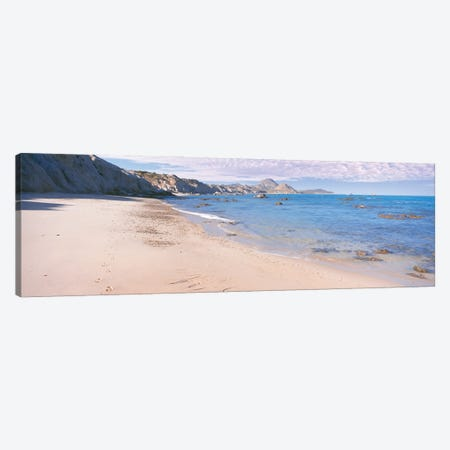 Sandy Beach Between Cabo Pulmo And Playa Los Arbolitos, Cabo Pulmo National Park, Baja California Sur, Mexico Canvas Print #PIM16022} by Panoramic Images Canvas Artwork