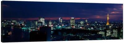 Tokyo Tower Tokyo Japan Canvas Print #PIM1602