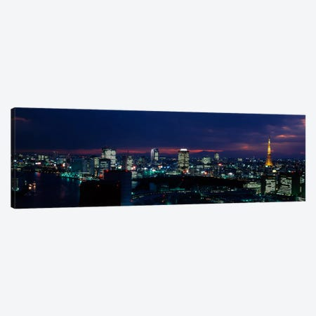 Tokyo Tower Tokyo Japan Canvas Print #PIM1602} by Panoramic Images Canvas Art Print