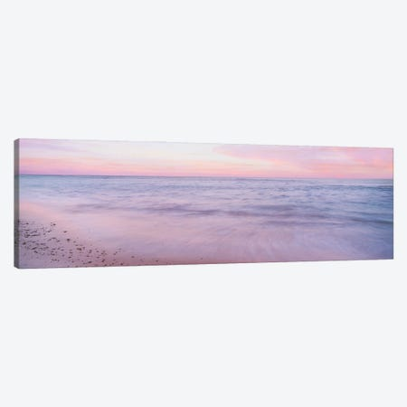 Sunset Over The Sea Of Cortez, Cabo Pulmo, Baja California Sur, Mexico Canvas Print #PIM16033} by Panoramic Images Canvas Print