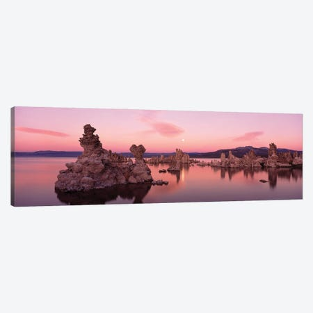 Tufa Rock Formations In A Lake, Mono Lake, Mono Lake Tufa State Reserve, California, USA Canvas Print #PIM16047} by Panoramic Images Art Print