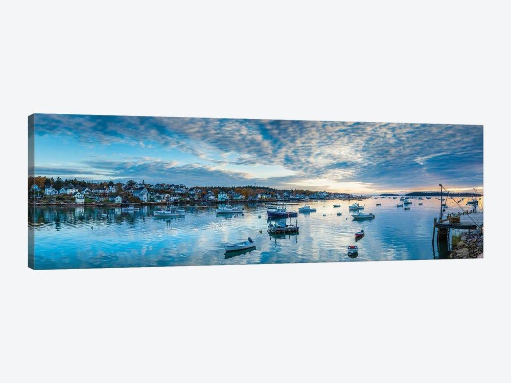 Usa, Maine, Stonington, Stonington Harbor, Dawn by Panoramic Images 1-piece Canvas Artwork