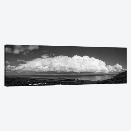 View Of Sea And Cloud On Sky, South Kona, Hawaii, USA Canvas Print #PIM16064} by Panoramic Images Art Print