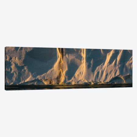 View Of The Glacier Front Of Brasvellbreen, Austfonna, Nordaustlandet, Svalbard, Norway Canvas Print #PIM16072} by Panoramic Images Canvas Art Print
