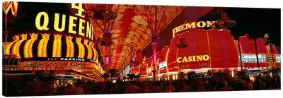 Fremont Street, Las Vegas, Nevada, USA Canvas Print #PIM1607
