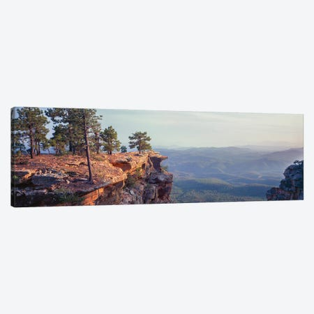 Landscape With Trees On Cliffs, General George Crook Trail, Apache Sitgreaves National Forest, Arizona, USA Canvas Print #PIM16083} by Panoramic Images Canvas Art
