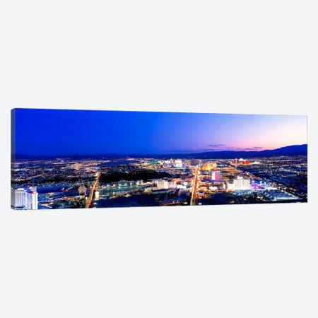 Las Vegas Strip, Nevada, USA Canvas Print #PIM1608} by Panoramic Images Canvas Print