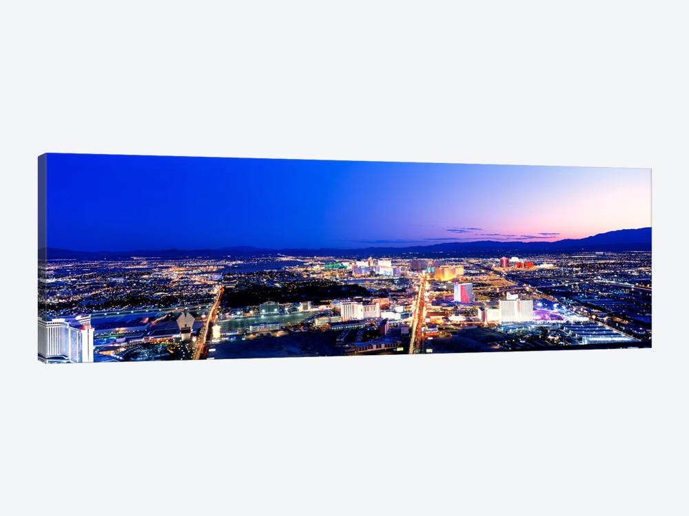 Las Vegas Strip, Nevada, USA by Panoramic Images 1-piece Canvas Wall Art