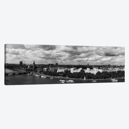 Aerial View Of A City, London, England Canvas Print #PIM16106} by Panoramic Images Canvas Art