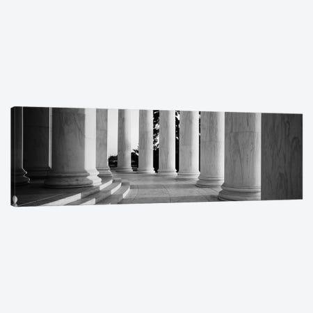 Jefferson Memorial Washington DC Canvas Print #PIM16186} by Panoramic Images Canvas Art