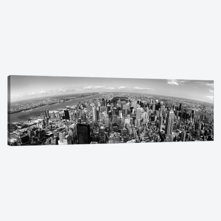 Skyscrapers In A City, Manhattan, New York City, New York State, USA Canvas Print #PIM16234} by Panoramic Images Canvas Art