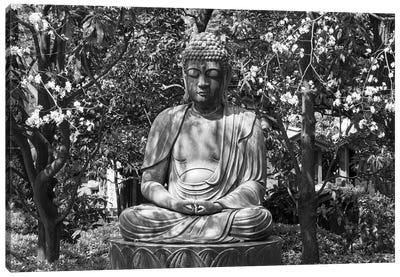 Small Buddha Statue At Senso-Ji temple, Tokyo, Japan Canvas Art Print