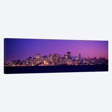 San Francisco, California, USA Canvas Print #PIM1626} by Panoramic Images Canvas Wall Art