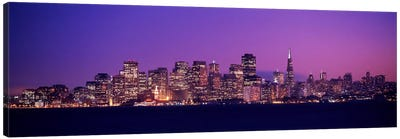 San Francisco, California, USA Canvas Art Print
