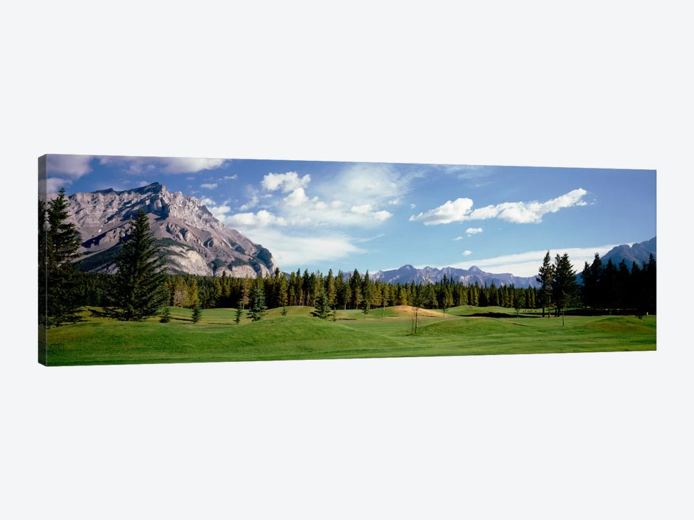 Golf Course Banff Alberta Canada by Panoramic Images 1-piece Art Print
