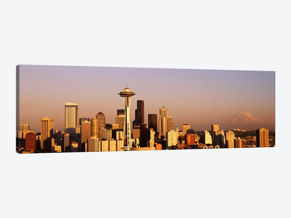 Skyline, Seattle, Washington State, USA by Panoramic Images 1-piece Art Print