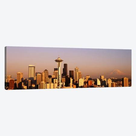 Skyline, Seattle, Washington State, USA Canvas Print #PIM1630} by Panoramic Images Canvas Artwork