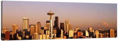 Skyline, Seattle, Washington State, USA Canvas Art Print
