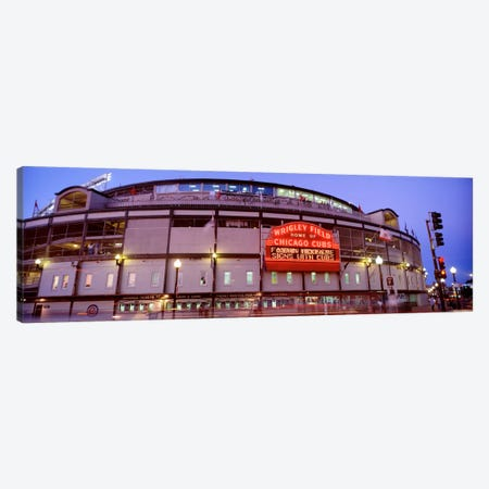 USA, Illinois, Chicago, Cubs, baseball V Canvas Print #PIM1631} by Panoramic Images Canvas Wall Art