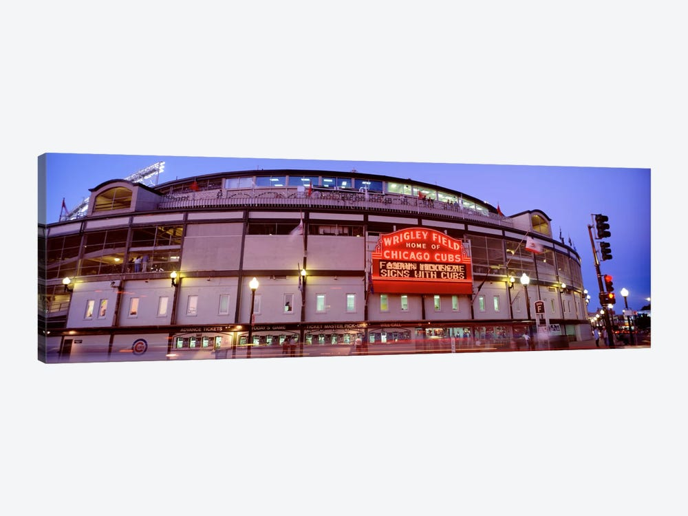 USA, Illinois, Chicago, Cubs, baseball V by Panoramic Images 1-piece Canvas Artwork