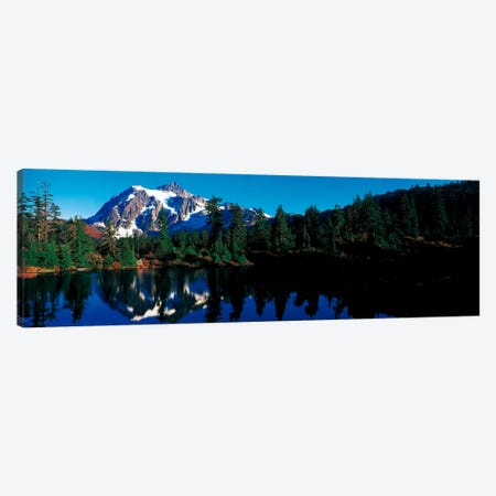 Mount Shuksan North Cascades National Park WA Canvas Print #PIM1633} by Panoramic Images Canvas Wall Art