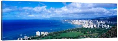 Waikiki Honolulu Oahu HI USA Canvas Print #PIM1636