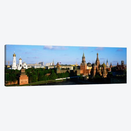 High-Angle View Of Red Square, Moscow, Russian Federation Canvas Print #PIM1643} by Panoramic Images Art Print