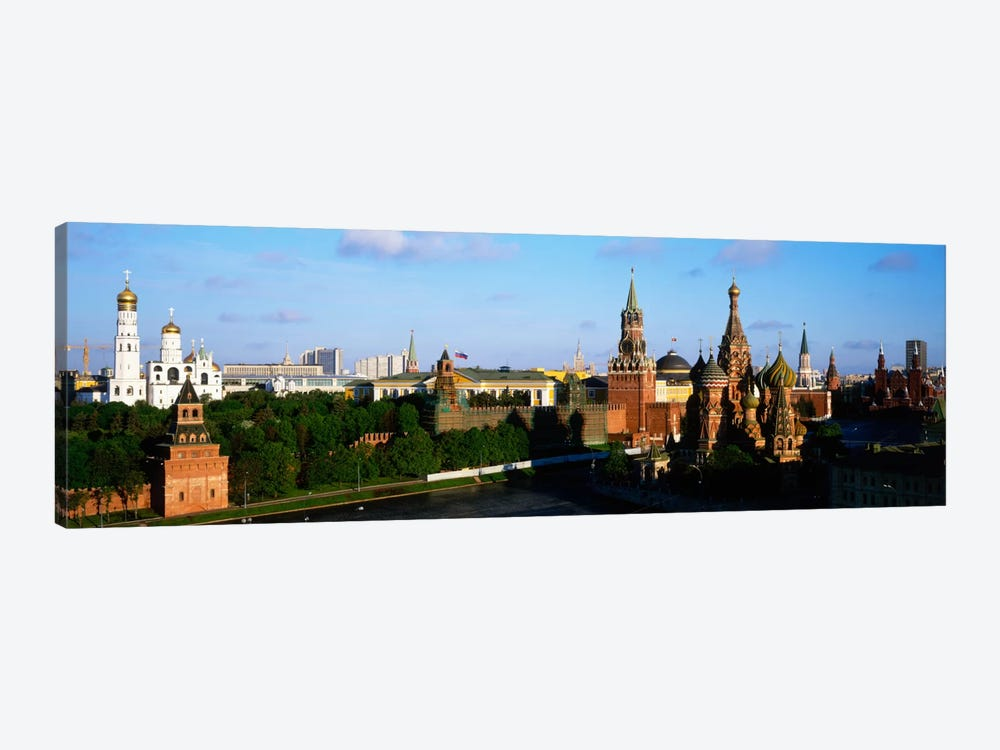 High-Angle View Of Red Square, Moscow, Russian Federation by Panoramic Images 1-piece Art Print