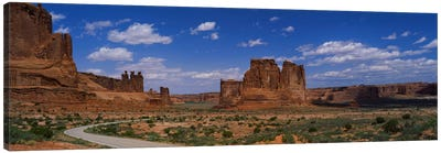 Scenic Drive, Arches National Park, Utah, USA Canvas Art Print