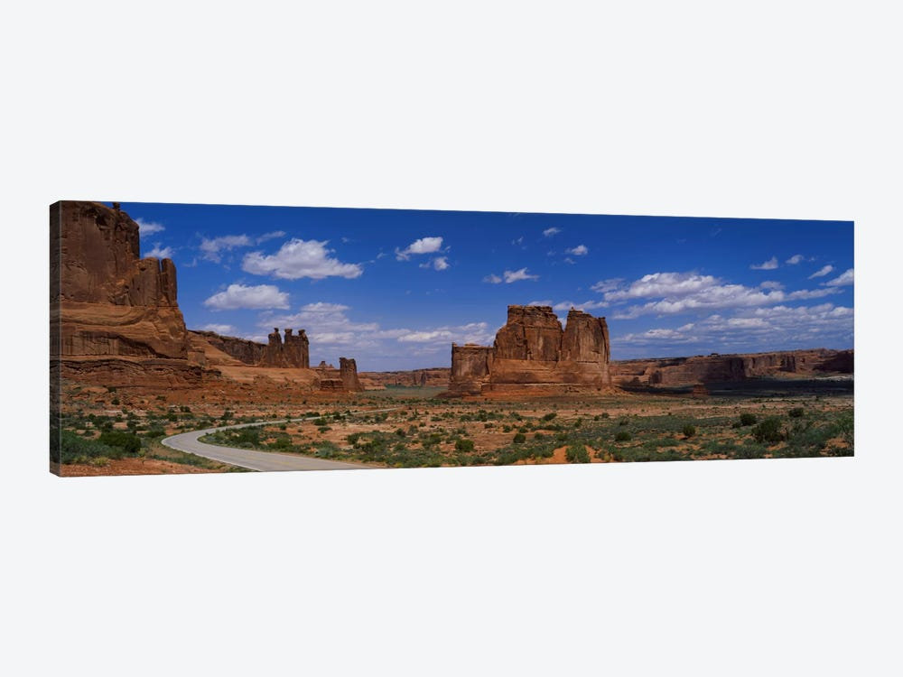 Scenic Drive, Arches National Park, Utah, USA by Panoramic Images 1-piece Canvas Print