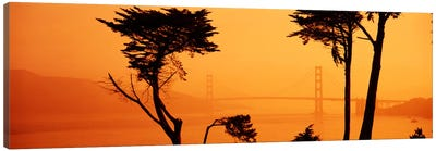Bridge Over Water, Golden Gate Bridge, San Francisco, California, USA Canvas Print #PIM1648