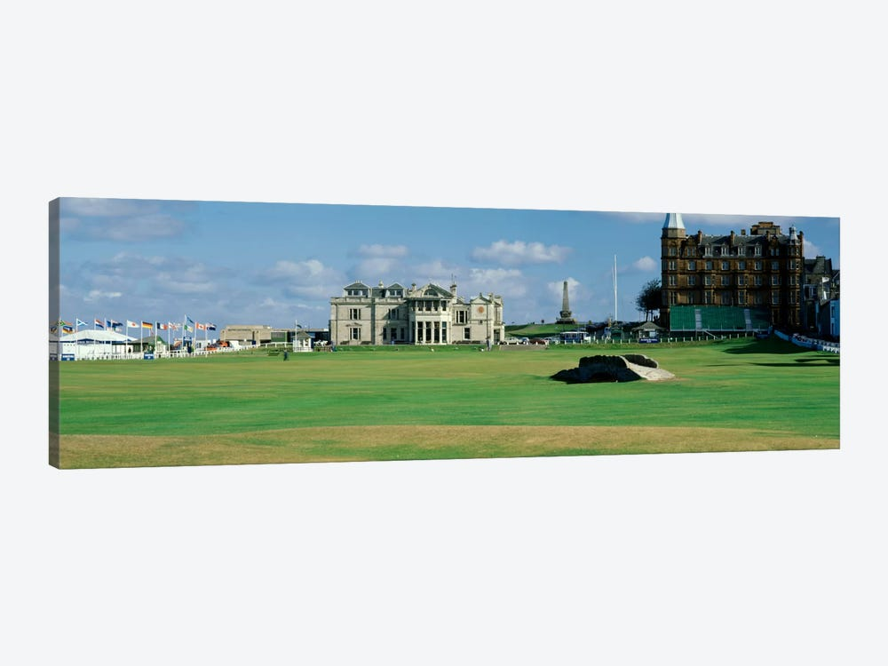 Swilcan Bridge Royal Golf Club St Andrews Scotland by Panoramic Images 1-piece Canvas Artwork