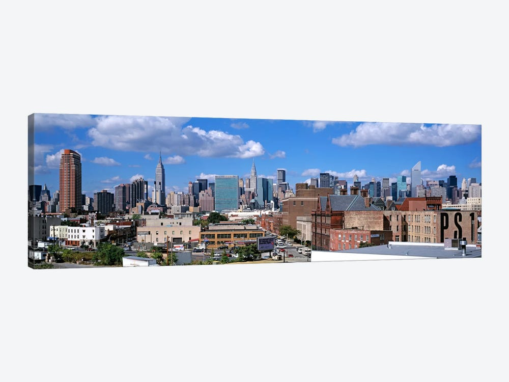 Aerial View Of An Urban City, Queens, NYC, New York City, New York State, USA by Panoramic Images 1-piece Canvas Art