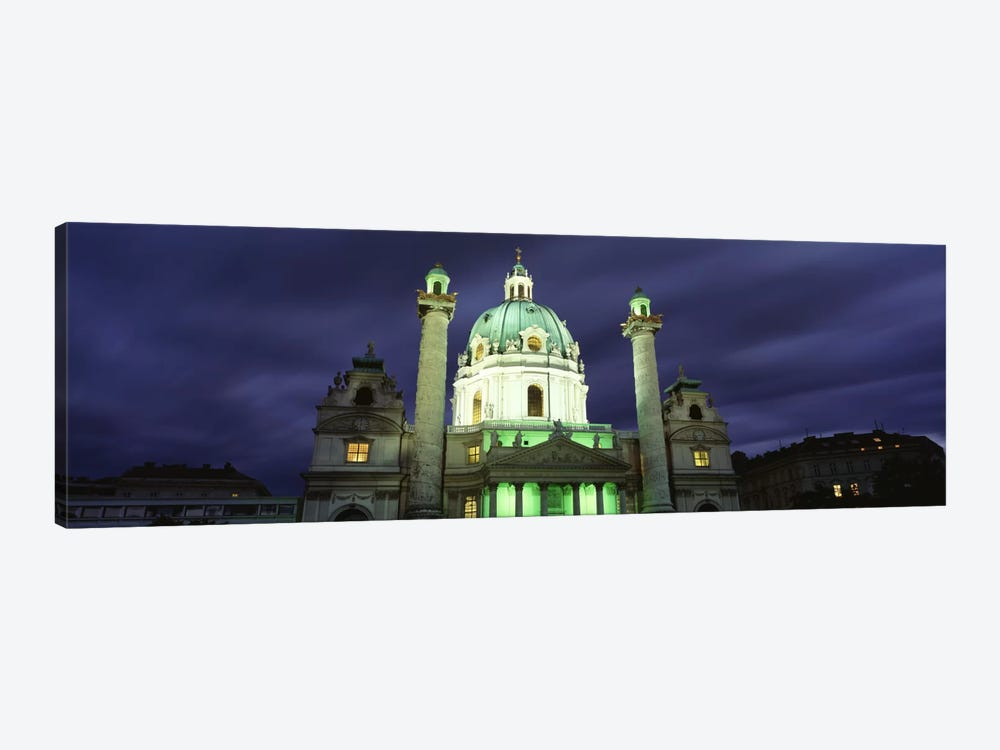 AustriaVienna, Facade of St. Charles Church by Panoramic Images 1-piece Art Print