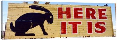 Jack Rabbit Trading Post Sign Joseph City AZ Canvas Print #PIM1672