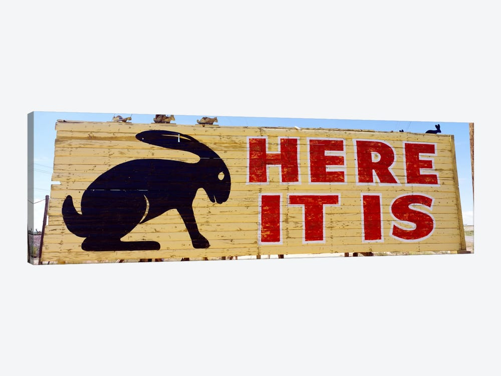 Jack Rabbit Trading Post Sign Joseph City AZ by Panoramic Images 1-piece Canvas Art Print
