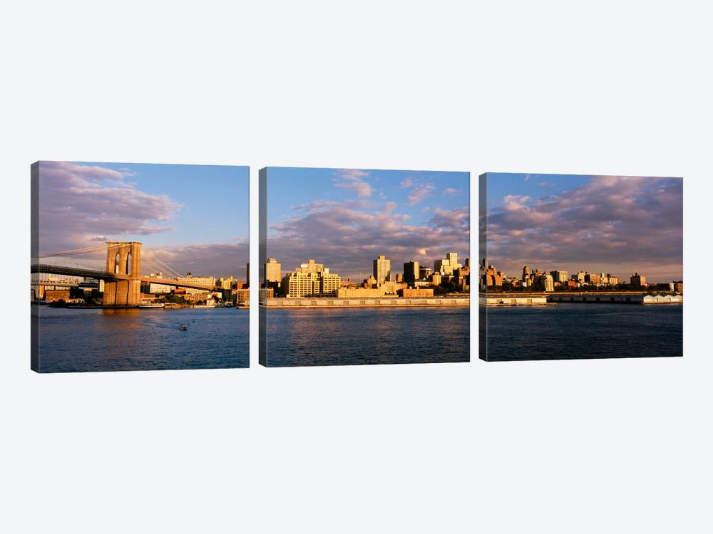 Brooklyn HeightsNYC, New York City, New York State, USA by Panoramic Images 3-piece Art Print